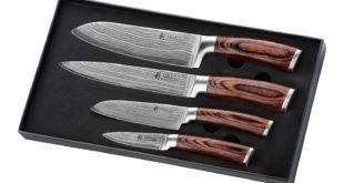 Damast Küchenmesser - Wakoli Damastmesser Set